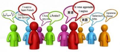 Examen de idiomas.