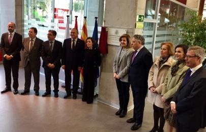 Inaugurada una nueva oficina integral de la seguridad for Oficina seguridad social
