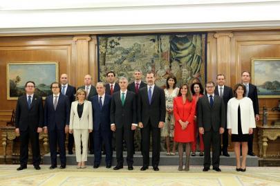 Audiencia Real a la Junta de Gobierno de FEDECA, en la que la ALSS ostenta la vicepresidencia.